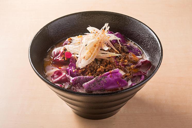 パープル担々麺