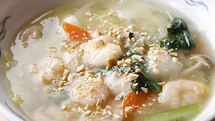 上海えび湯麺